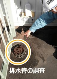 排水管の調査