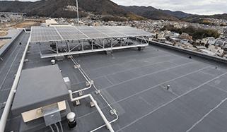 フラットな屋根イメージ